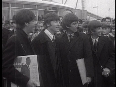 [Beatles Return To London]