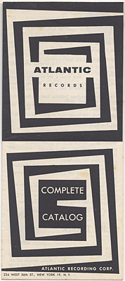 [Atlantic Records Catalog 1954?]