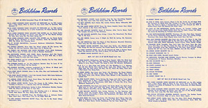 [Bethlehem Records Catalog 1956]
