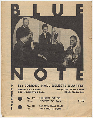 [Blue Note Records Catalog 1941?]