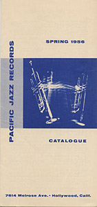 [Pacific Jazz Records Catalog Spring 1956]