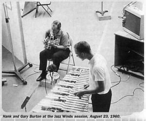 [Hank Garland and Gary Burton at the session]