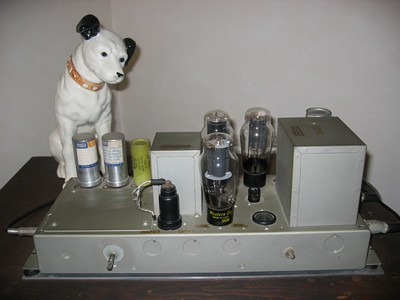 [Vacuum Tube Power Amplifier w/ WE350B and WE274B]