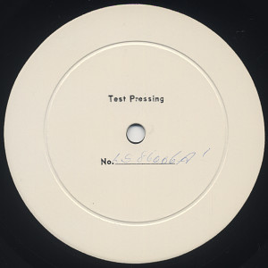 [LS-86006 Side-A Test Press (label)]