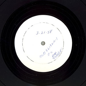 [MG-36132 Side-A Test Press (label)]