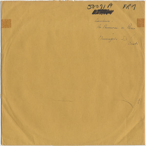 [MG-50071 Side-A Test Press (sleeve)]
