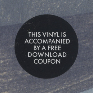 [Sticker on MORR MM 101 LP album]