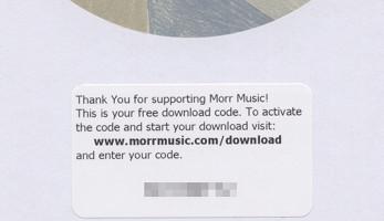 [Free Download Coupon on MORR MM 101 LP album]
