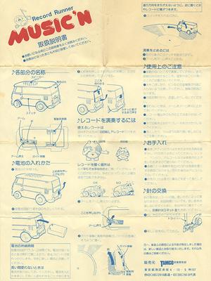 [MUSIC'N instruction manual]