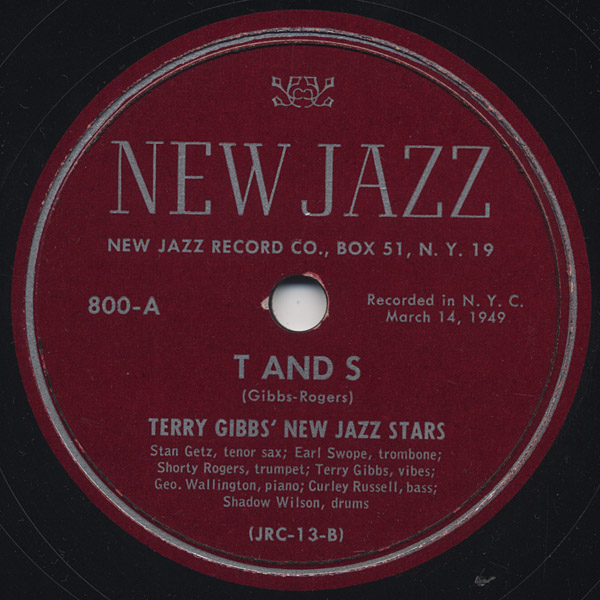 [New Jazz 800 Side-A]