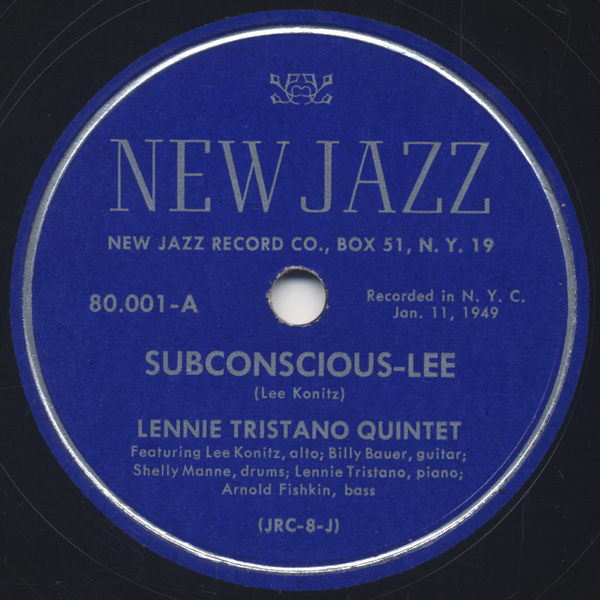 [New Jazz 80-001 Side-A]