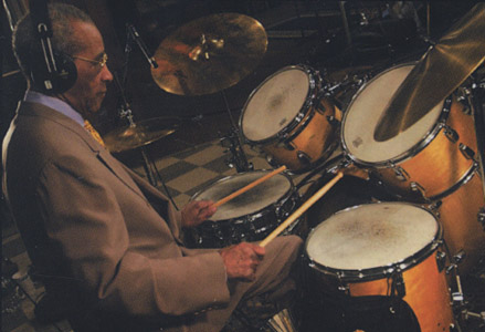 [Max Roach on Drums]