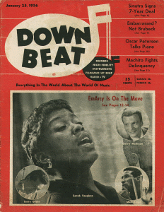 [Down Beat Magazine (Jan. 25, 1956)]