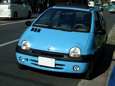 [Renault Twingo Easy Soft Top Convertible]