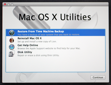 [Lion Recovery: Mac OS X Utilities]
