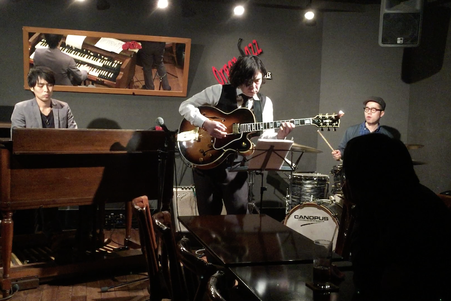 Iwao Ochi Trio at Organ Jazz Club, Mar. 13, 2015