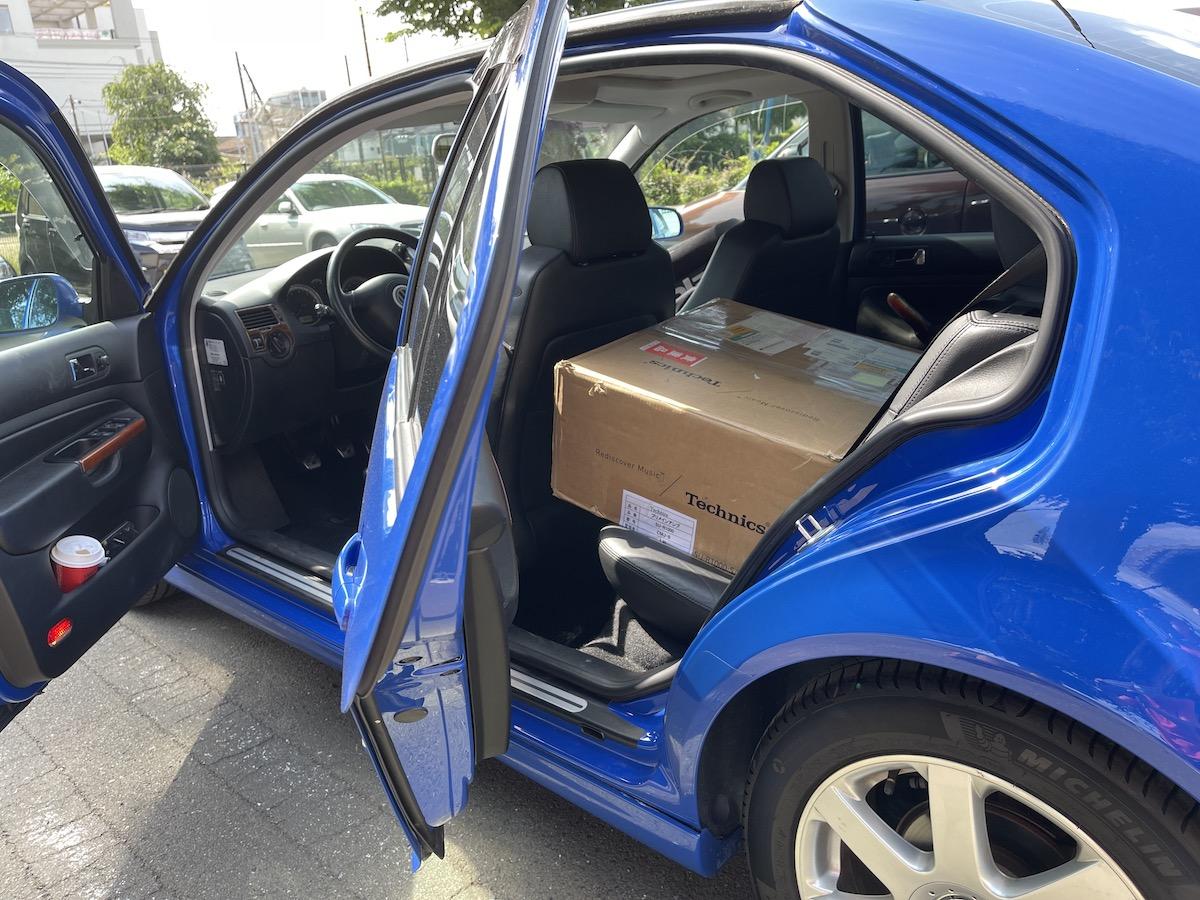 SU-R1000 Box on Bora V6 4Motion