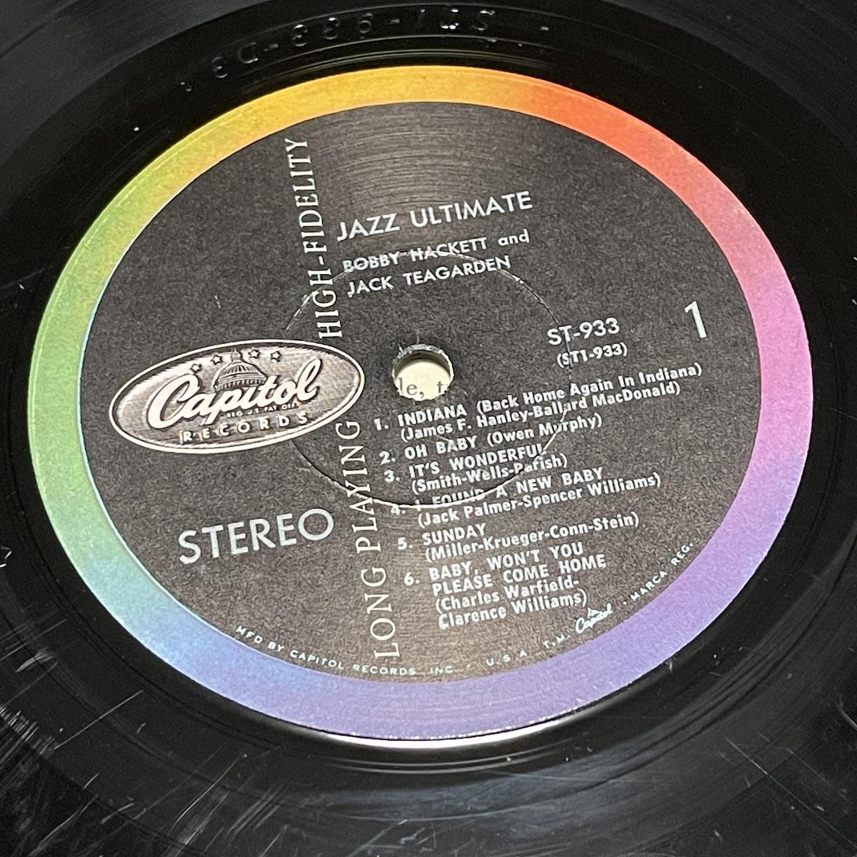 Capitol ST-993 Label A