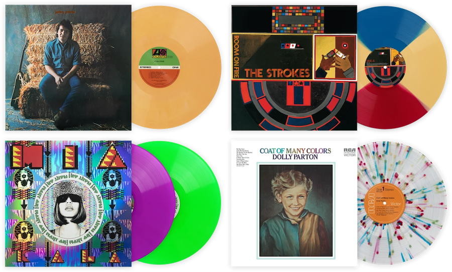 Colourful Records by VMP