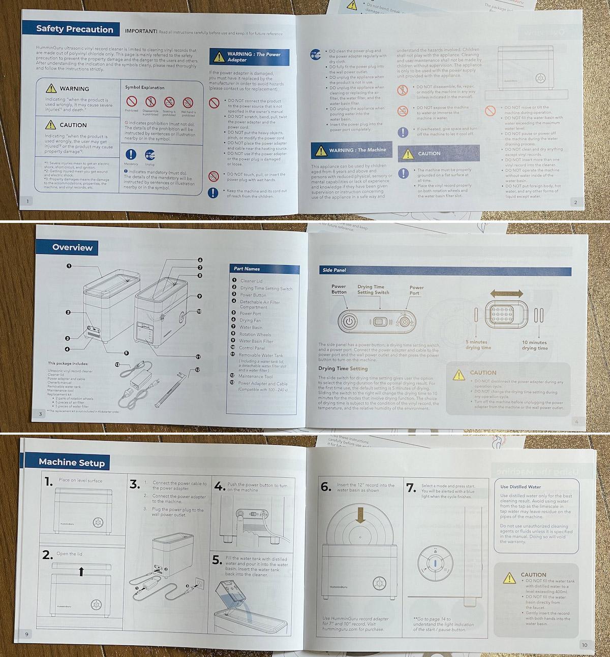 HummingGuru Owners Manual